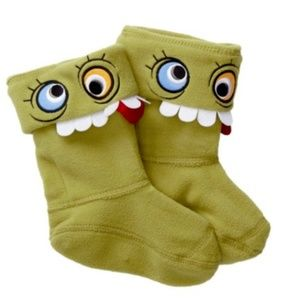 Hunter Original Kids Alien Boot Socks Googly Eyes